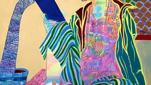 Overthinking 2020 (acrylic on canvas, 185x115)