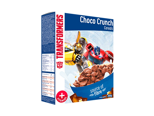 Appy Kids Co Transformers Choco Crunch Cereal  With Vitamins 200g