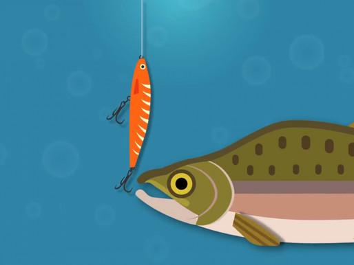 """Fish hooking"""