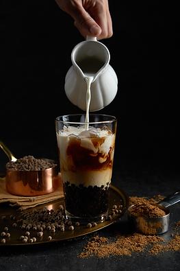 Brown Sugar Pearl Oolong Tea Latte