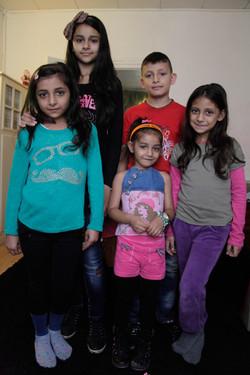 Les cinq enfants