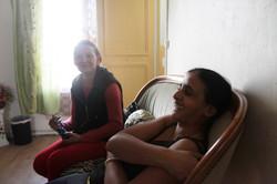 Marcella et une amie