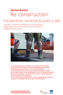 Vernissage Re construction