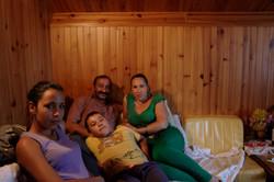 Alina et sa famille