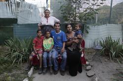 Rada et sa famille