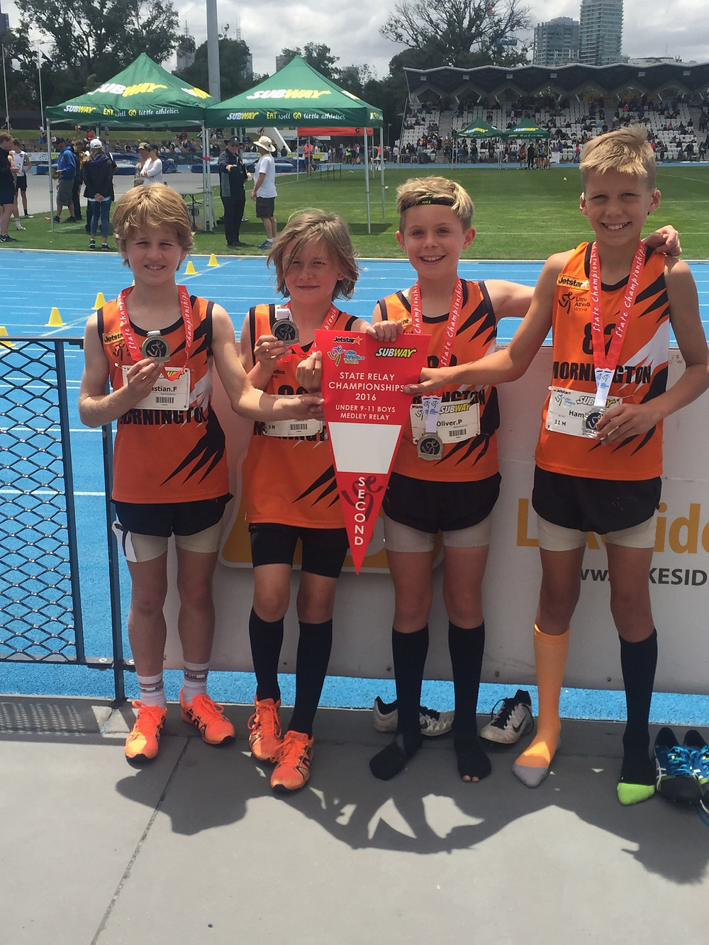 U9-11 Boys Mixed Age team