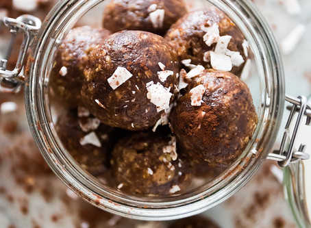 Vegan Nutty Butter Protein Energy Balls