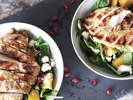 Grilled Chicken Summer Salad