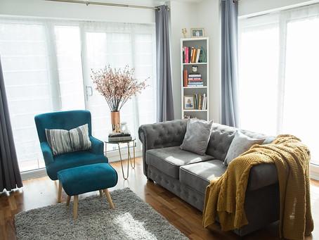 New(ish) Abode: Living Room Haul