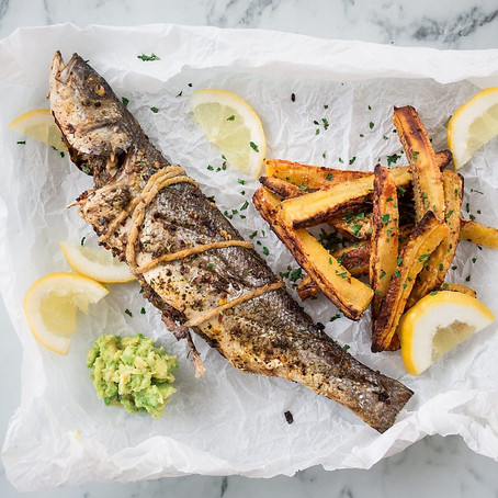 Fish and Chips Pan-African Style