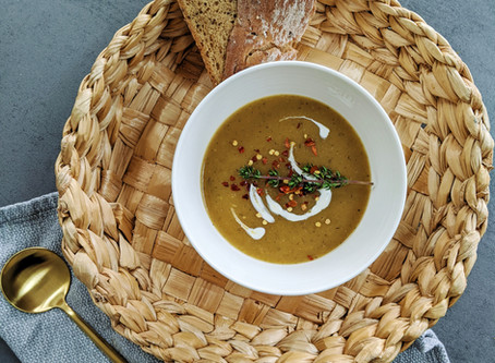 Plantain, Sweet Potato, Butternut Squash Soup