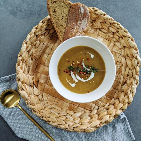 Plantain, Sweet Potato, Butternut Squash Soup