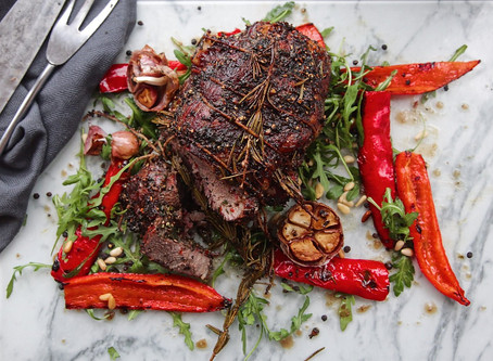 Mothers Day Special: Black Pepper and Rosemary Roast Lamb!