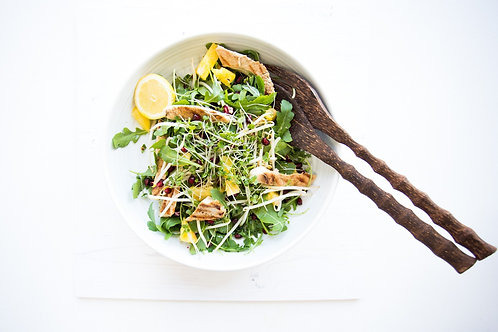 Grilled Turkey Steak Salad