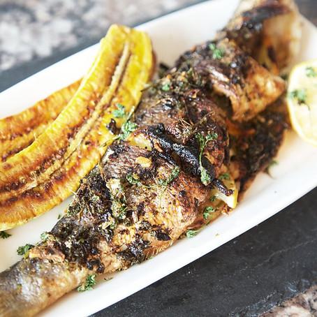 Garlic & Herb Grilled Seabass