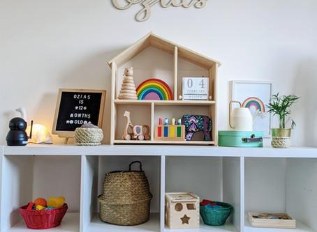 Montessori Learning: Shelf Rotation