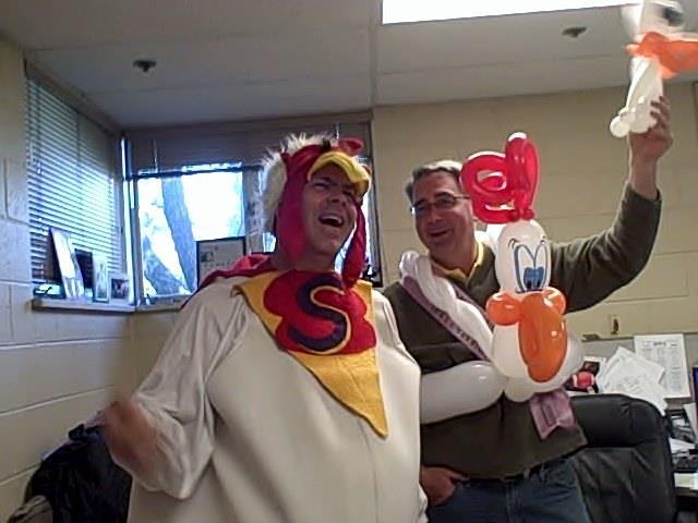 Giant Superhero Chicken