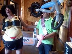 Denver Singing Telegram Biker Babe, Denver Balloon Delivery.jpg