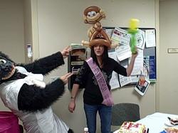 ing Telegram Gorilla nurse balloon delivery,   Lone Tree  Singing Tel