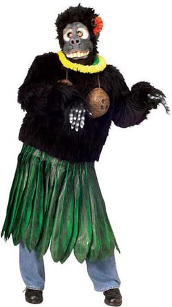 Hula Gorilla Denver Singing Telegram costume.jpg