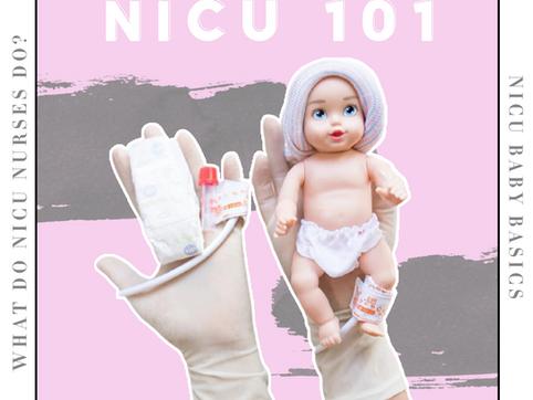 NICU Nurse 101...What is the NICU REALLY LIKE?