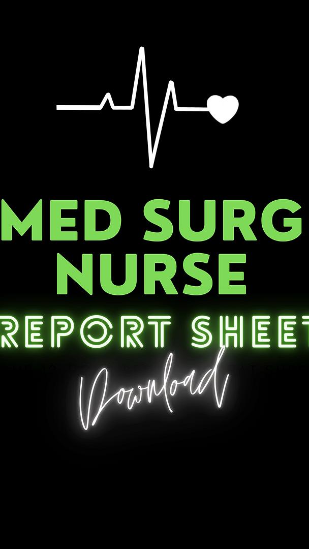 Med Surg Report Sheet.png