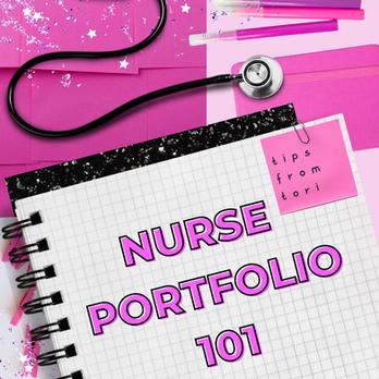 Nurse Portfolio 101