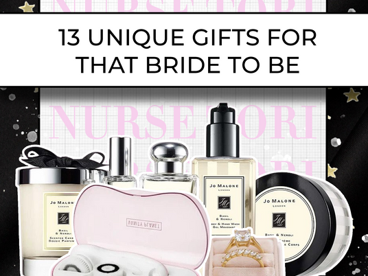 13 Unique Gifts For That Bride To Be!