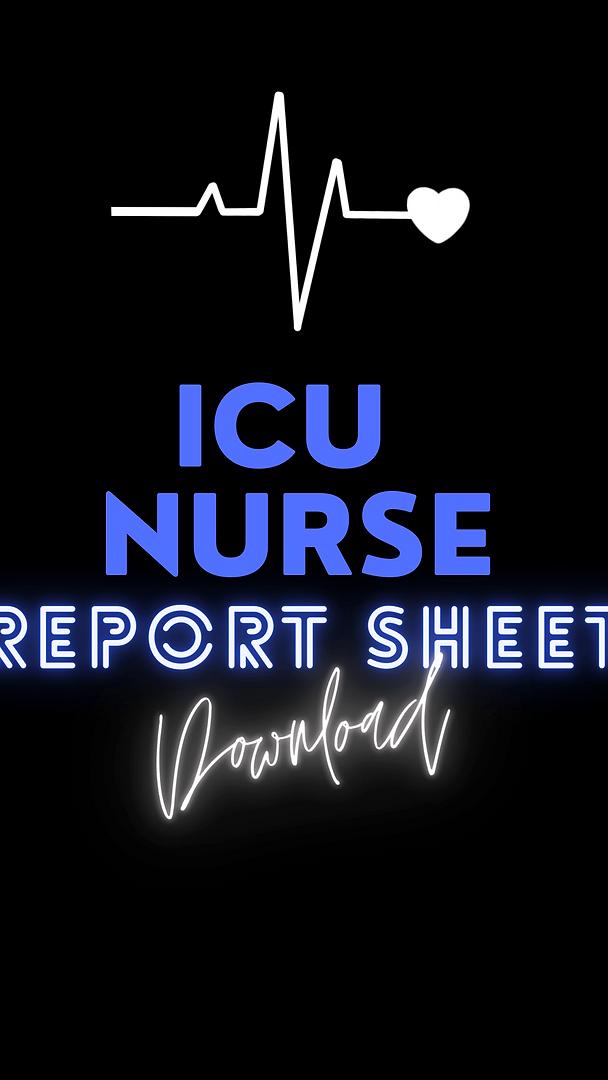 ICU nurse report sheet cover.png