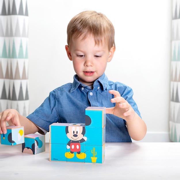 Cubes Mickey