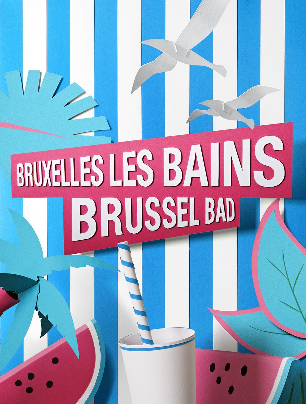 Affiche de Bruxelles les Bains