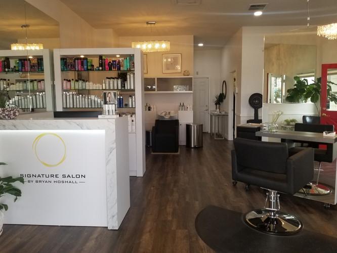 Signature Salon Entrance