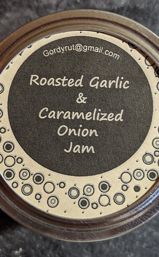 Roasted Garlic & Caramelized Onion Jam