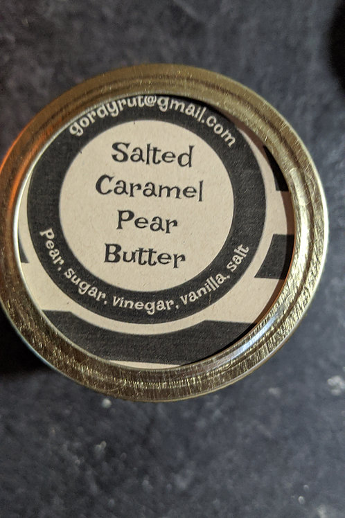 Salted Caramel Pear Butter