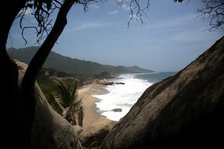 Bahía en el Parque Tayrona
