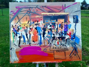 The Flexcats | Live Gemälde