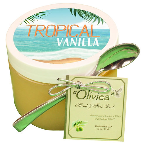 Tropical Vanilla Salt Scrub