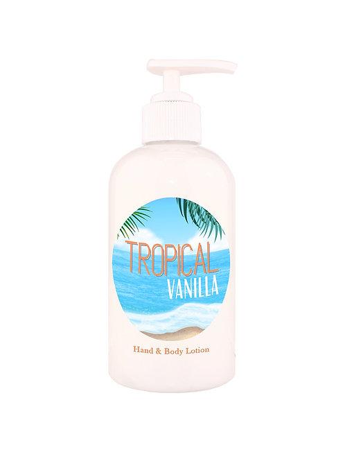 Tropical Vanilla Hand & Body Lotion