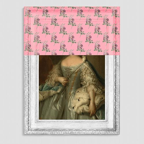 Limited Edition: Princess Royal Rose Canvas
