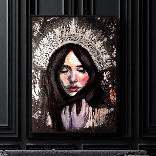 """Morana"" Art Print by Marta Hutt"