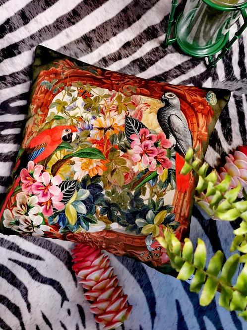 """""""Parrots"""" Cushion"""