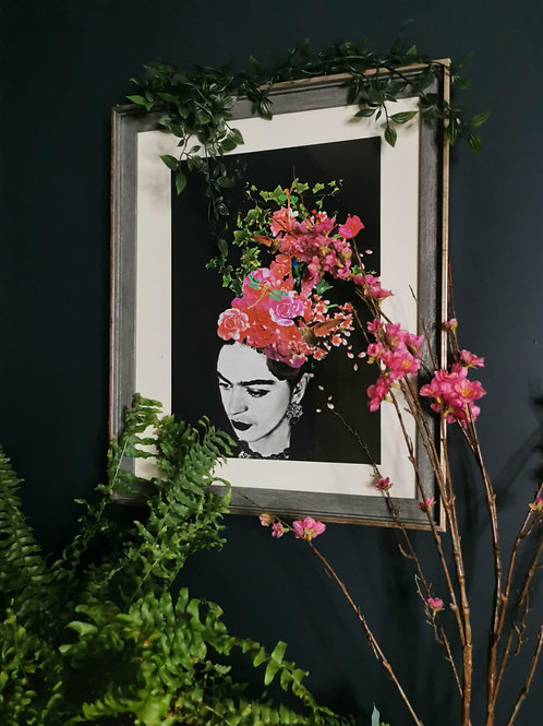 Frida - Pink Blossom Art
