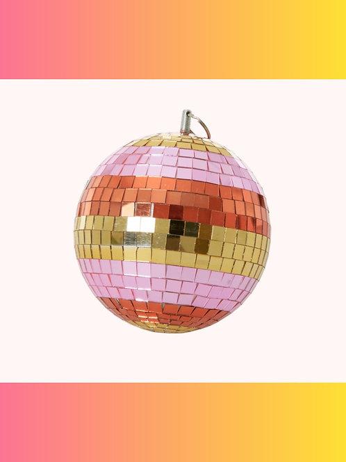 """Get Up & Boogie"" Baby Rainbow Disco Ball"