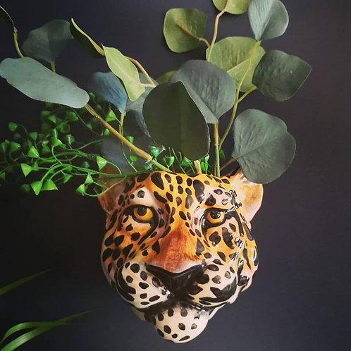 Lola leopard wall sconce