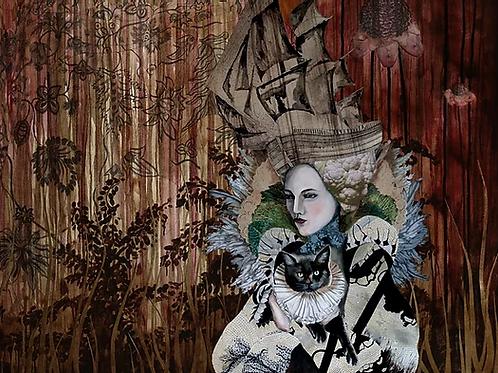 Diva print by Sabina Pieper