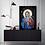 "Thumbnail: ""Mary"" Art Print with Gold By Marta Hutt"