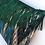 Thumbnail: Thea velvet cushion in palm green