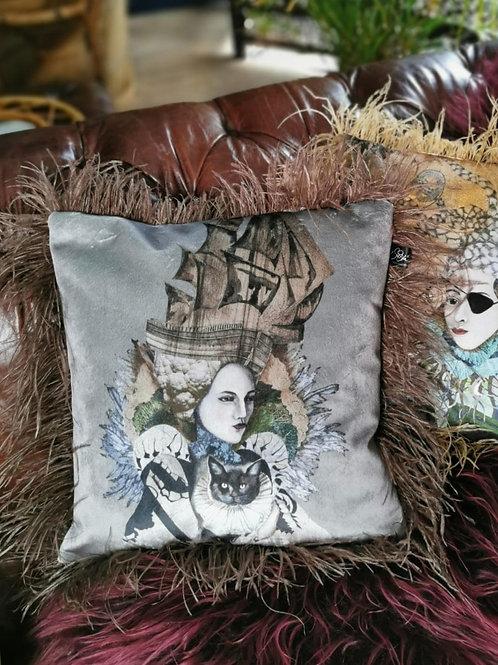 Ghost ship cushion