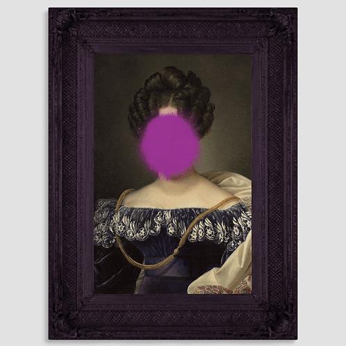 Splat the Johanna Canvas