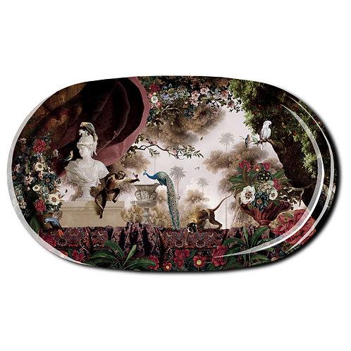 """Oriental Garden"" Extra Large Tray"